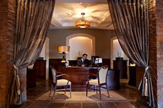 A warm welcome awaits in the hotel lobby at Fota Island Resort Island Resort, Hotel Lobby, Curtains, Warm, Home Decor, Blinds, Interior Design, Draping, Home Interior Design