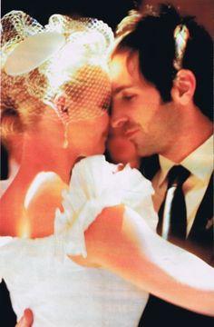Katherine Heigl &Josh Kelley (December 23, 2007) Gown: Oscar de la Renta | Location: Park City, Utah | Status: Married, 2 Children