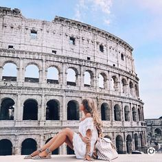 """19k Likes, 95 Comments - LIKEtoKNOW.it (@liketoknow.it) on Instagram: """"""""Our last leg of the trip: Rome! These comfortable striped espadrilles were perfect for a day full…"""""""