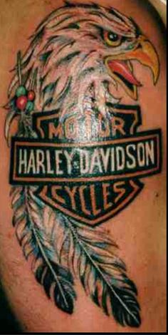 1000 images about harley davidson tattoos on pinterest for Free harley davidson tattoo designs