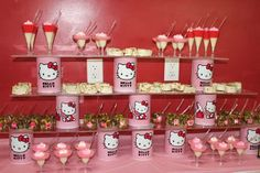 hello kitty, Kid's parties, girl's birthday party, food, decoration, coordination