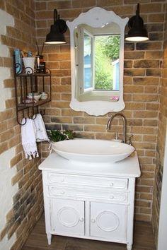 Badmöbel-Blog - Land & Liebe Hall Interior, Best Interior Design, Interior Decorating, Wash Basin Cabinet, Used Furniture Stores, Simple Web Design, Bathroom Storage, Bathroom Ideas, Small Hallways