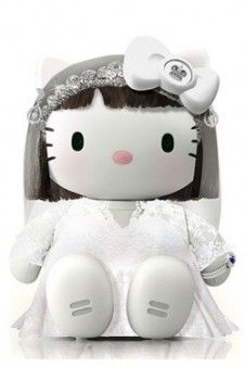 Fondo para Iphone. Princesa Kate Middleton Hello Kitty