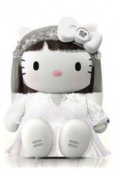 Fondo para Iphone. Princesa Kate Middleton Hello Kitty