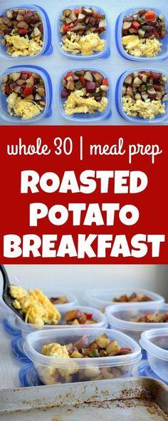 Meal Prep Roasted Potato Breakfast Quick Healthy Breakfast Ideas & Recipe for Busy Mornings Healthy Desayunos, Healthy Meal Prep, Healthy Snacks, Healthy Recipes, Healthy Weight, Vegetarian Meal Prep, Vegetarian Recipes, Office Food, Lunch Recipes