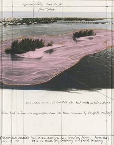 By Christo,Surrounded Islands, Project for Biscayne Bay, Greater Miami, Florida, 1981