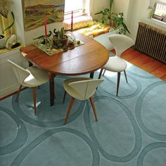 Modern Dining Room Round Dining Table Design, Pictures, Remodel, Decor and Ideas - page 25