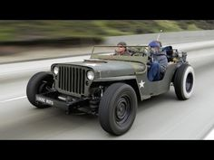 Love those rat rods - specially the rat rod jeep featured in this video - it's mad!!! ~:0)