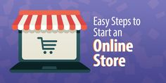 Wondering how to start an online store? It's a lot easier than you might think. These 5 steps will guide you to sure success. Retail Technology, Hustle, Website, Store, Easy, Blog, Larger, Blogging, Shop