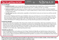 Tips for getting started on the Body by Vi™ 90 Day Challenge!