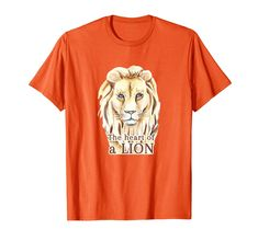 $18.85 - Lion Heart Shirt is an excellent gift for brave and strong. T-Shirt for walks, sports and other occasions. #lionshirt #lionking #tshirt #lionheart #lion #kidsshirt Heart Of A Lion, Lion Shirt, Creative Shirts, Heart Shirt, Branded T Shirts, Walks, Brave, Long Sleeve Shirts, Strong
