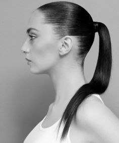 A Sleek Ponytail provides both a simple yet formal look for those of you who are on the go