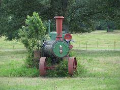 Case Steam Tractor by dbro1206, via Flickr
