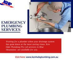 Waiting for a plumber when your drainage system has gone down the drain are the most testing times. ken Hale Plumbing Pty Ltd services in Penrith and Sydney Region are available around the clock to help you in your difficult hours. We understand a plumbing emergency can occur at any point of the day or night. Plumbing Emergency, Plumbing Problems, Penrith, Has Gone, Sydney, Waiting, Clock, Times, Night