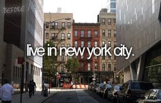 15. Live in New York City for at least 7 days... hopefully longer (Mission trip? Internship? Volunteer? Summer camp?)