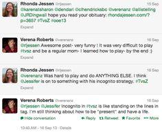 Connecting via Twitter vs. Zombies - Rhonda Jessen.com