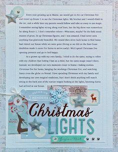 Christmas Lights   Jennifer Larson