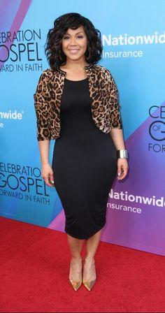 Erica Campbell @ 2014 BET Celebration of Gospel