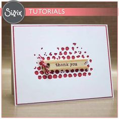 Sizzix puts creativity in your hands with the craftiest die cutting machines, die cutting tools, accessories, and embossing equipment in the arts and craft industry! Quick Cards, Diy Cards, Hexagon Cards, Mini Albums, Mixed Media Cards, Karten Diy, Beautiful Handmade Cards, Sympathy Cards, Greeting Cards