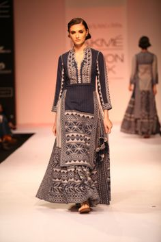 Vrisa by Rahul and Shikha LFW WF 2013
