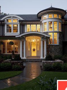 Victorian Home Exterior Design I Html on