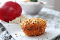 Pienet herkkusuut: Suolaiset muffinssit