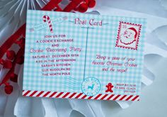 NORTH POLE Christmas Cookie Exchange Party by andersruff on Etsy, $18.00