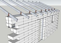 Article about an alternative bond beam for straight, vertical walls