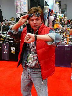 Marty McFly     #cosplayDoneRight #Cosplay #BackToTheFuture #NYCC    by gluetree