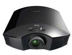 Sony-VPL-HW40ES-projecter  The projector uses its SXRD imaging technology, which helps the device gain its perfect contrast and rich color features. The brightness of the projector is rated at 1,700 ANSI lumens, making the device functional in a dark room