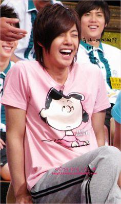 Kim Hyun Joong 김현중 ♡ laughing ♡ happy ♡ Kpop ♡ Kdrama ♡ haha ^^