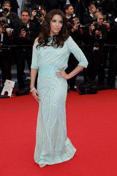 Eva Longoria en el Festival de Cannes 2013 - Lindos detalhes