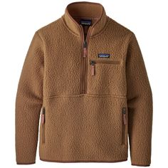 The Patagonia Women's Retro Pile Marsupial Pullover is a retro-inspired high-pile fleece that's as soft and cozy on the inside as it is on the outside. Patagonia Pullover, Outdoor Outfit, Hand Warmers, Retro, Fitness Models, Sweatshirts, My Style, Clothes, Patagonia Outdoor