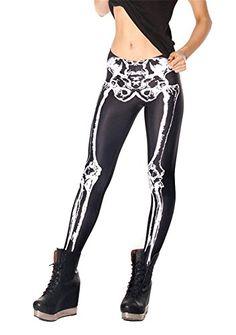 Women's Designed Digital Print Mechanical Bones Pattern Sexy Stretch Leggings Black Milk Show http://www.amazon.com/dp/B00NVE7RI0/ref=cm_sw_r_pi_dp_XWgpub0SQEPZE