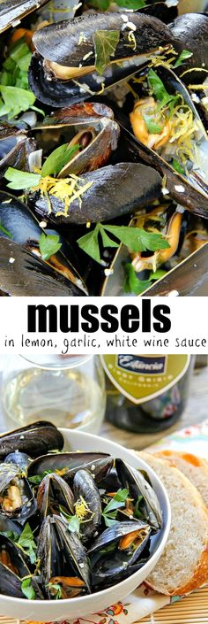 Nadire Atas on the Best Calamari and Wine Mussels in a lemon and garlic white wine sauce. The perfect dish inspired by the sea. Seafood Platter, Seafood Stew, Seafood Dinner, Seafood Restaurant, Seafood Recipes, Dinner Recipes, Cooking Recipes, Healthy Recipes, Mussel Recipes