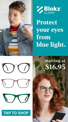 Protect your eyes in style with our blue light glasses! Blonde Bob Hairstyles, Hairstyles With Bangs, Bob Styles, Short Hair Styles, Maquillage Goth, Medium Layered Haircuts, Simple Prom Hair, Easy Hairstyles For School, Fashion Eye Glasses