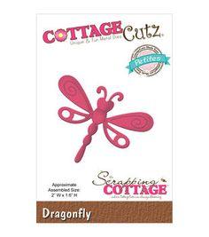 """CottageCutz Petites Die 2""""X1.6""""-Dragonfly"""