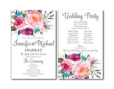 Hey, I found this really awesome Etsy listing at https://www.etsy.com/listing/266144150/rustic-wedding-program-country-chic