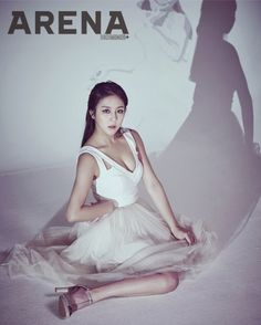 #Gyuri, #Yewon, #Nara, #Solar, #Raina, and #Nahyun Pay Homage to Female Pop Icons in Arena Homme Plus