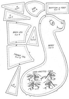 vintage giraffe pattern