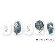 #マリーネイルズ #marienails #ネイルデザイン #かわいい #ネイル #kawaii #kyoto #ジェルネイル#trend #nail #toocute #pretty #nails #ファッション #naildesign #ネイルサロン #beautiful #nailart #tokyo #fashion #ootd #nailist #ネイリスト #ショートネイル #gelnails #instanails #newnail  #マグネット #french #galaxy