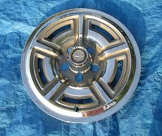 Ford Galaxie 500 Hubcap Wheel Cover 1966 1967 1968 1969 Stainless Steel 15""