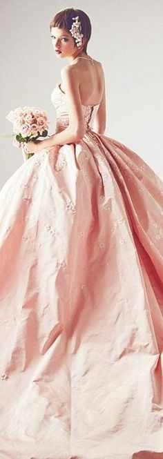 Pink Wedding Gowns, Bridal Gowns, Glamorous Wedding, Dream Wedding, Perfect Wedding, Bridal Elegance, Pink Icing, Bridal Show, Groom Attire