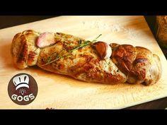 Bravčová panenka v celku na cibuľovo-horčicovej omáčke s gratinovanými zemiakmi #bravcovapanenka - YouTube Food And Drink, Turkey, Meat, Cooking, Youtube, Kitchen, Turkey Country, Youtubers, Brewing