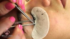 How to Do Eyelash Extensions by Bella Lash