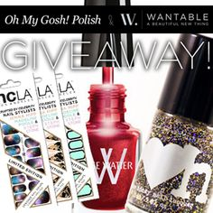 I just entered to win a Wantable box filled with intimates, accessories and makeup from Oh My Gosh, Polish!