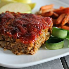 Every tried to hide veggies in meal? This Zucchini Meatloaf hides them so well that no one will even tell that it is good for them! Plus it makes it so moist! Recipe from www.todaystaste.com