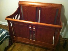 Baby Crib Dismantle, and Re-Assemble