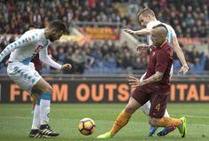Serie A: Roma Napoli 1-2, azzurri a -2 dai giallorossi