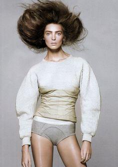 Corset Sweatshirt via knitGrandeur | follow and pin for more